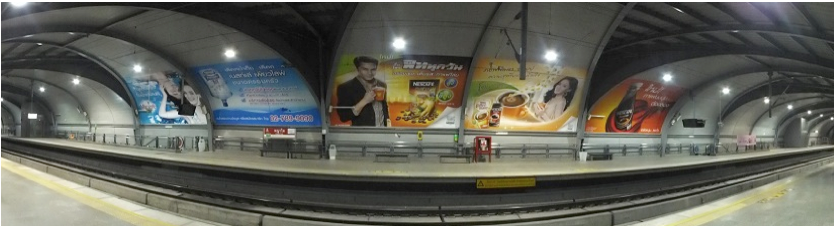 bangkok airport rail link advertising